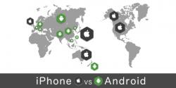 【iPhone VS Android】世界と日本におけるスマホOSのシェア比較
