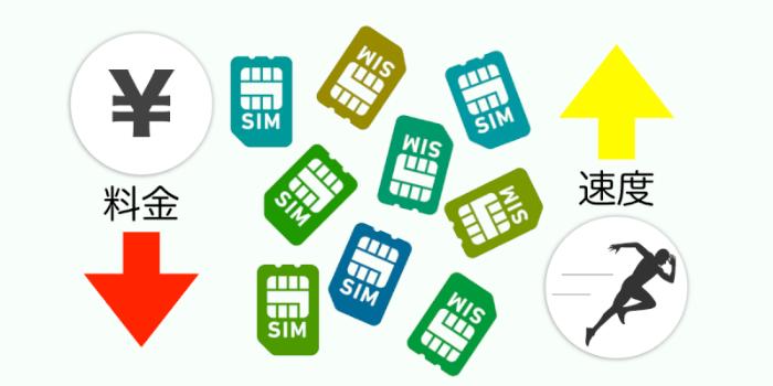【2018年版】料金が安くて通信速度も速いオススメの格安SIM9選まとめ