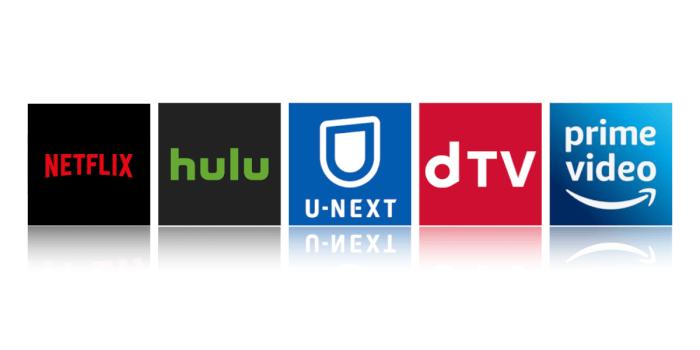 Netflix、hulu、U-NEXT、dTVの比較表+Amazon プライムを添えて | XERA