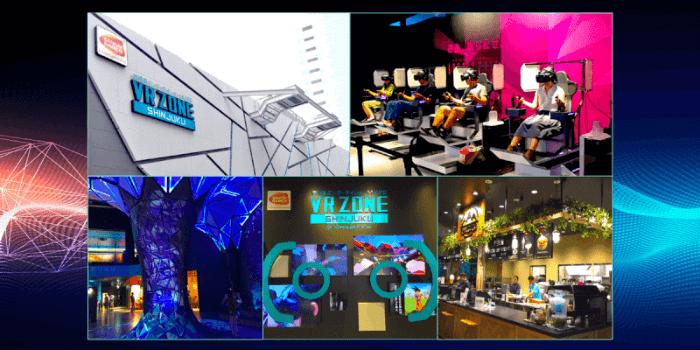 熱いテーマパーク!VR ZONE SHINJUKUで最新のアトラクションを体験!