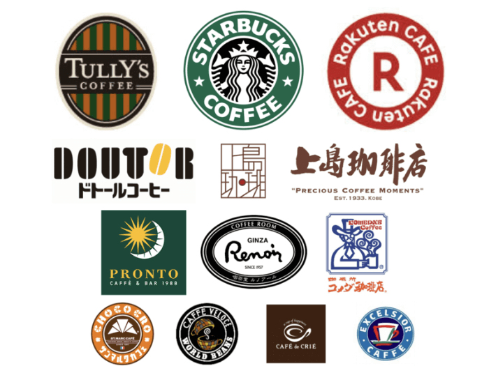 カフェのWiFiスポットまとめ図