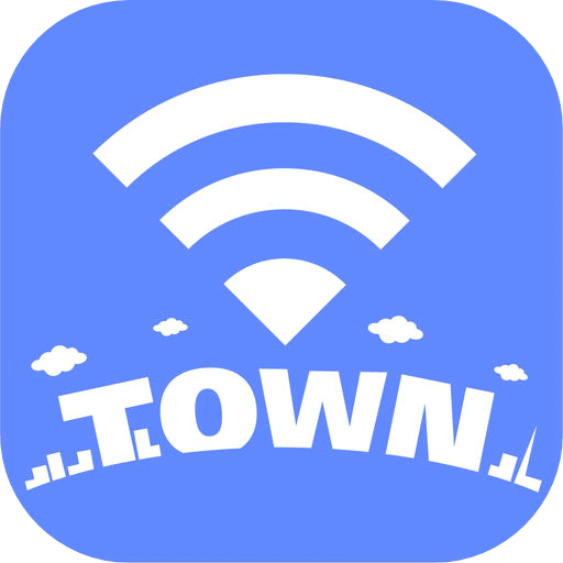 タウンWiFiアプリのアイコン