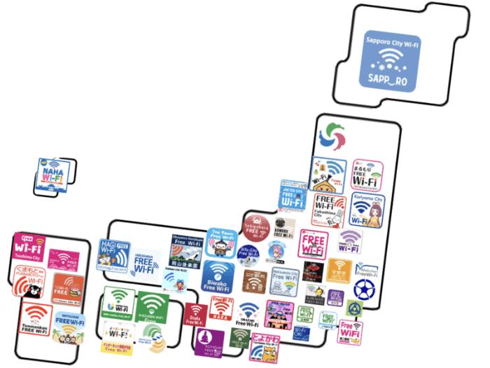 街Wi-Fiのイメージ図